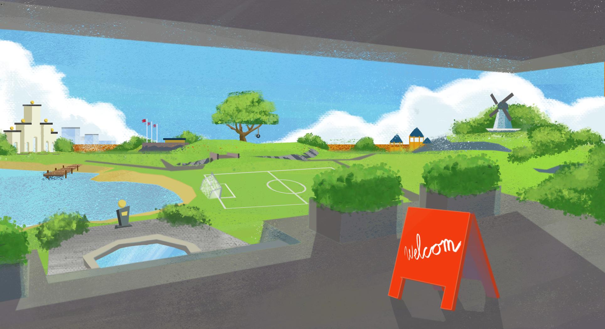 Park Concept2 002, Digital Devotion Games
