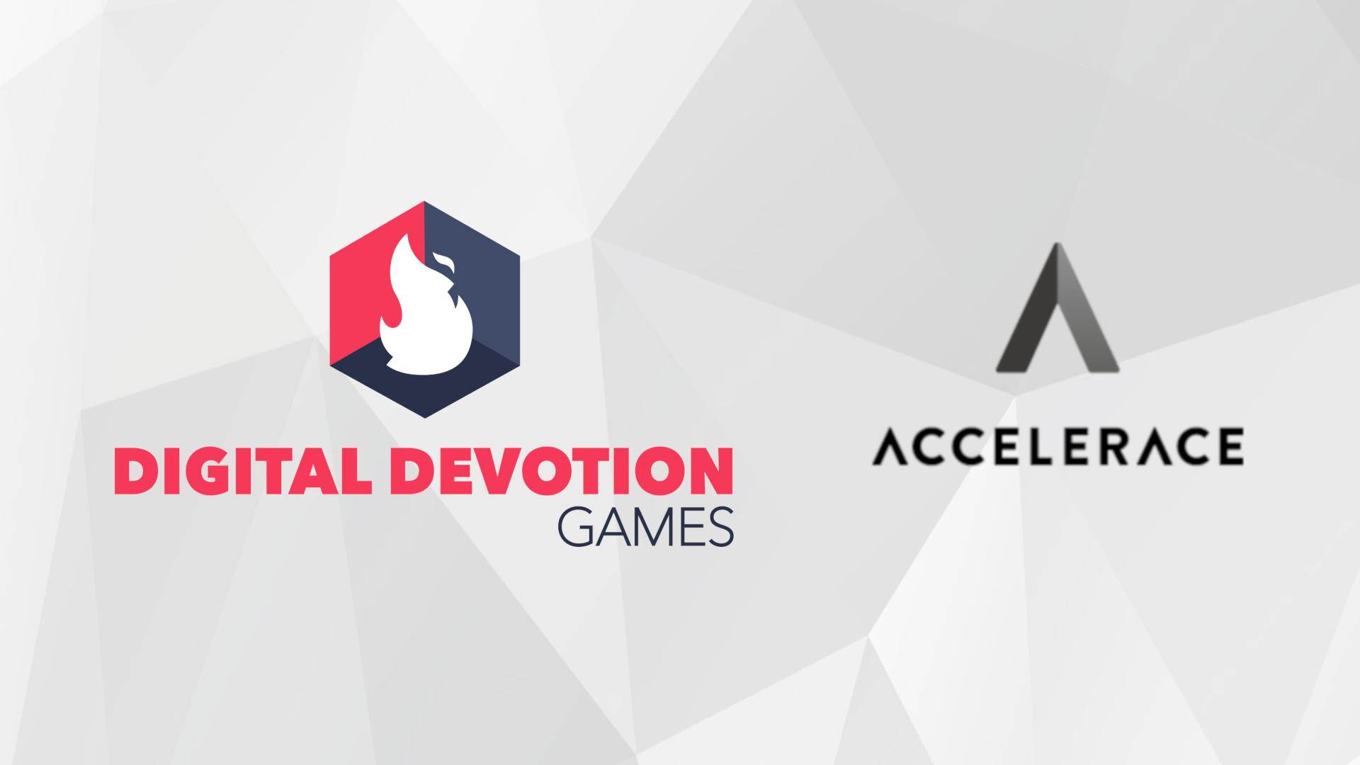 Digital Devotion Games announces partnership with Accelerace